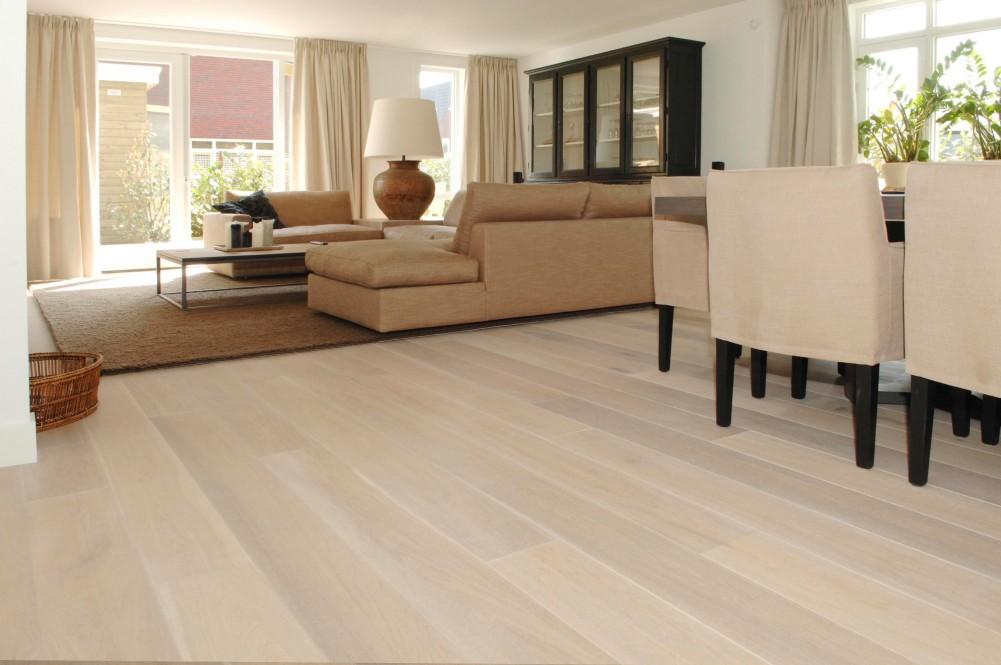 Wit Eiken Vloer : Houten vloeren